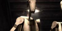 Battle droid lieutenant (Grevious lair)