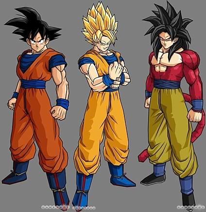 File:Goku in other forms.jpg