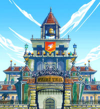 Fairy Tail New Building