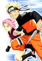 Naruto and Sakura databook 2