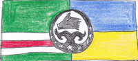 Flag of Dzhokhar Dubayev Battalion