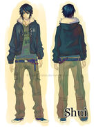 Shui character design by Celsa