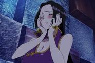 One Piece 3D2Y Hancock Blushing