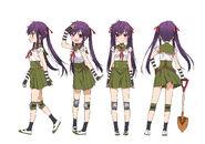 Kurumi Ebisuzawa Anime Concept