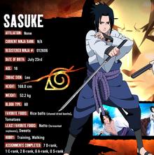 Sasuke fact-file