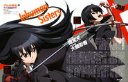 Akame and Kurome (Newtype 2014-10)