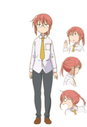 Kobayashi (Miss Kobayashi's Dragon Maid) Anime Concept Art