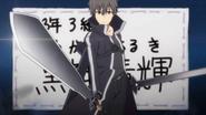 Haruki as Kirito (Danchigai Ep 08)