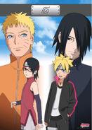 Boruto the Movie - Posters - Naruto Sasuke Boruto Sarada