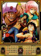 One Piece 2015 Calendar 11-12