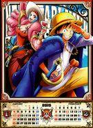 One Piece 2015 Calendar 01-02