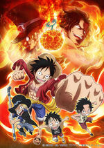 Episode of Sabo The Three Brothers' Bond - The Miraculous Reunion and the Inherited Will