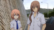 Kumagami and Medoki (Charlotte Ep 10)