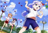 Gochuumon wa usagi desu ka (Animedia Nov 2015)
