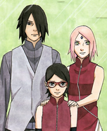 Uchiha family photo