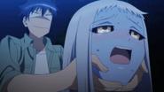 Lala and Kurusu's awkward moment (Monster Musume Ep 11)