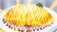 Yukihira's Curry Risotto Omelette Rice (Food Wars Ep 24)