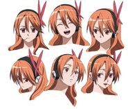 Chelsea Anime Concept Facial Expressions