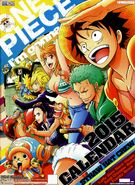 One Piece 2015 Calendar Cover