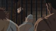 Sabo asks convict gladiators (One Piece Sabo Special)