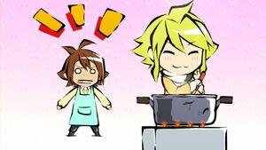 Leone cooking (Akame ga Kill ONA 2)