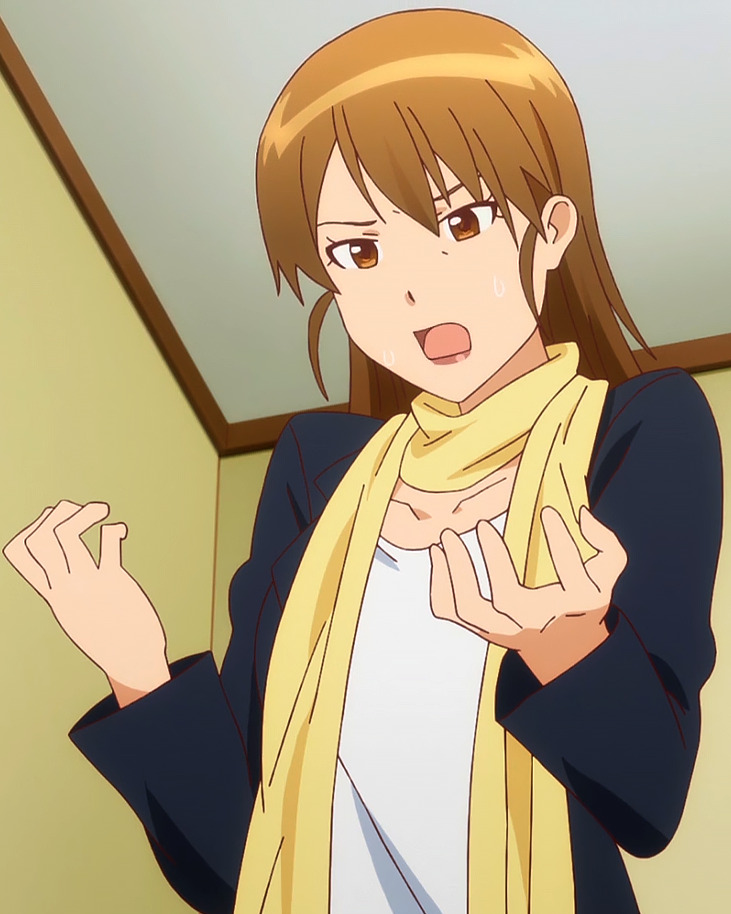 Image - Youko Mikayoshi Stitched Cap (WWW Wagnaria Ep 4).png ...