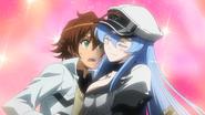 Tatsumi and Esdeath (Akame ga Kill Ep 14)