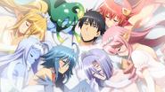 Kurusu's Monster Gal Harem (Monster Musume Ep 12)