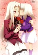 Iris and Illya (Megami 145)