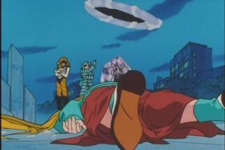 Usagi's corpse on the ground 390