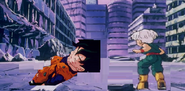 Trunks find goten dead