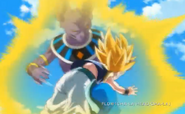 Bills kneed gotenks in the stomach