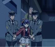Serena arrested7