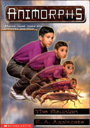 Animorphs 30 the reunion australian cover with no watch tv logo