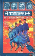 Animorphs 8 the alien dutch cover