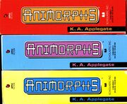 Animorphs boxed sets spines