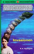 Animorphs 1 the invasion Invasionen swedish cover