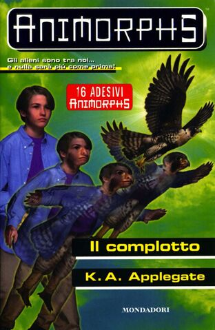 File:Animorphs 31 the conspiracy il complotto italian cover.jpg