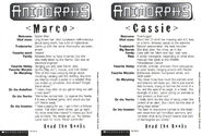 Marco cassie cards back