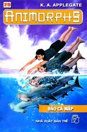 Animorphs 15 the escape Đảo cá mập vietnamese cover book 29