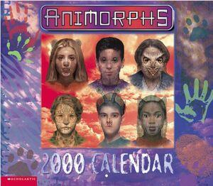 Animorphs Calendar 2000