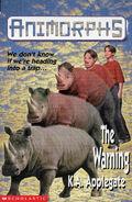 Animorphs 16 the warning UK cover earlier printing