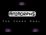1 Animorphs Yeerk Pool game intro screen