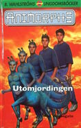 Animorphs 8 the alien Utomjordingen swedish cover