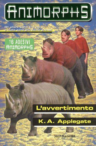 File:Animorphs 16 the warning L avvertimento italian cover.jpg