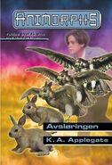 Animorphs 23 the pretender Avsloringen Norwegian cover