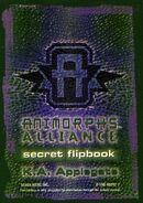 Animorphs alliance secret flipbook cover
