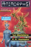 Animorphs 18 the decision La decisione italian cover