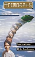 Animorphs 1 the invasion Invasjonen Norwegian cover