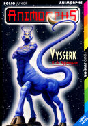 Animorphs visser french cover